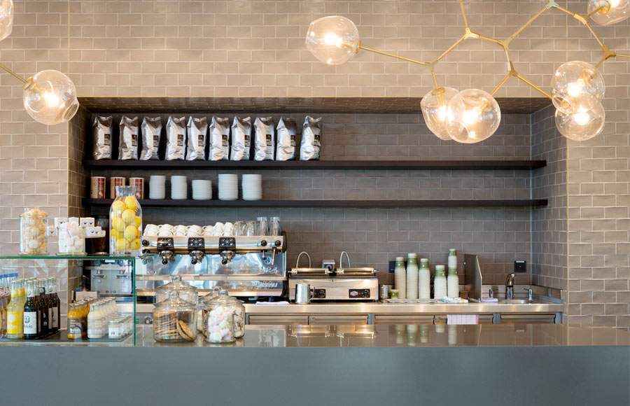 Restaurant, Cafe, Cafeteria, Kantine, Interior, Bar, Lighting, Feature, Coffee, Mercedes-Benz, Design