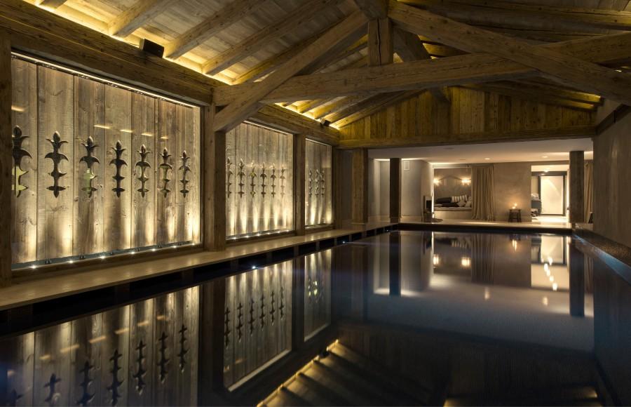 interiors, design, hotel, spa, alpine, architecture, switzerland, space